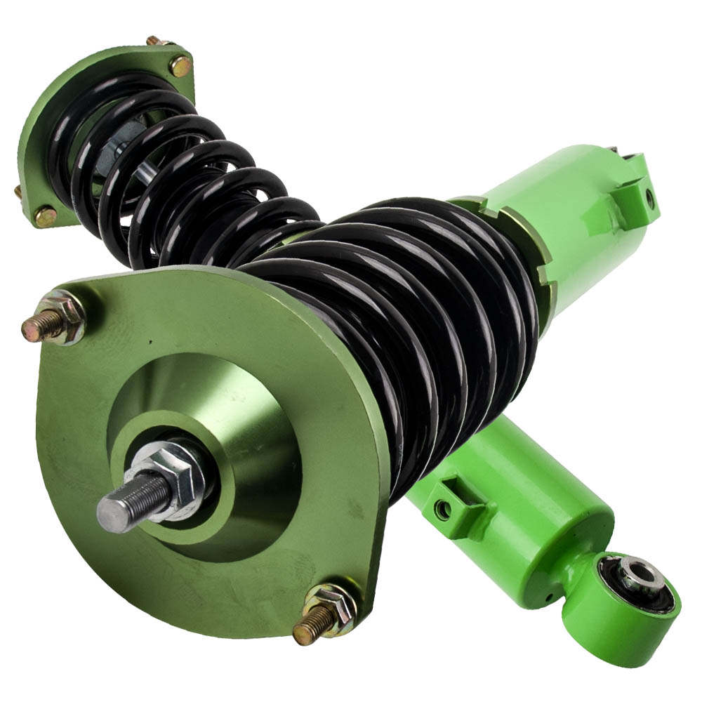 1990 - 2005 For Mazda Miata Roadster STO Height Adjustable Coilover Spring Green