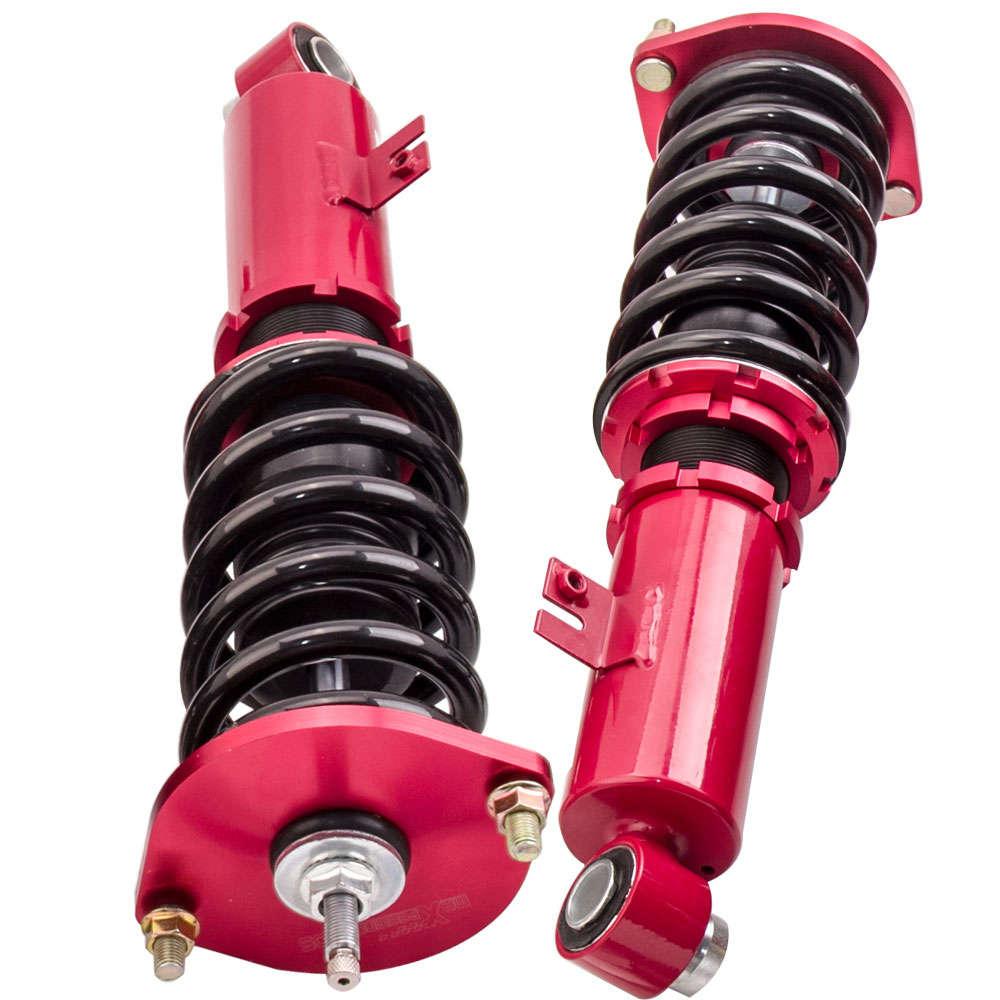 Kit de resorte de suspensión Coilover Shock Strut de 24 maneras compatible para Nissan 300ZX Fairlady Z32