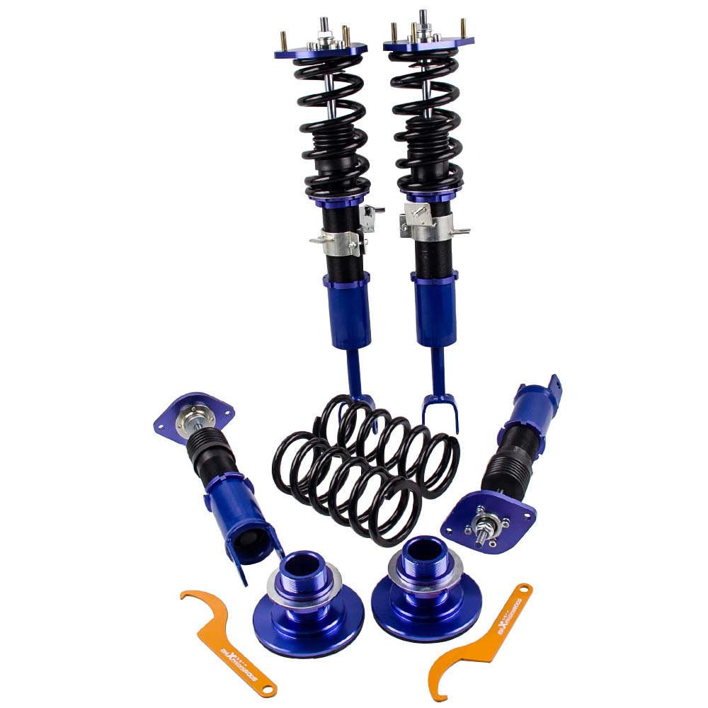 Amortiguador Amortiguador Suspensión Muelle Suspensión compatible para NISSAN 350z Z33 03-08 Altura Adj