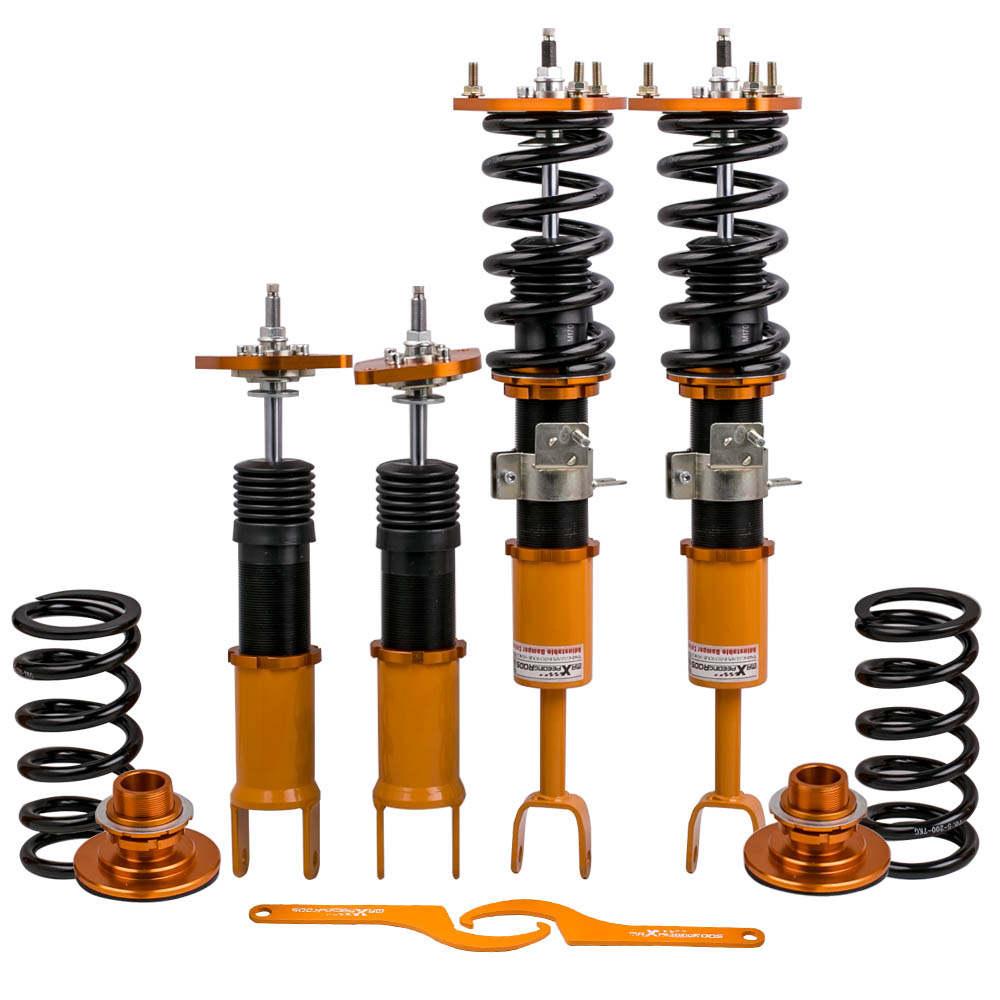 Adj. Amortiguadores amortiguadores compatible para Nissan 350Z Fairlady Z Z33 compatible para Infiniti G35
