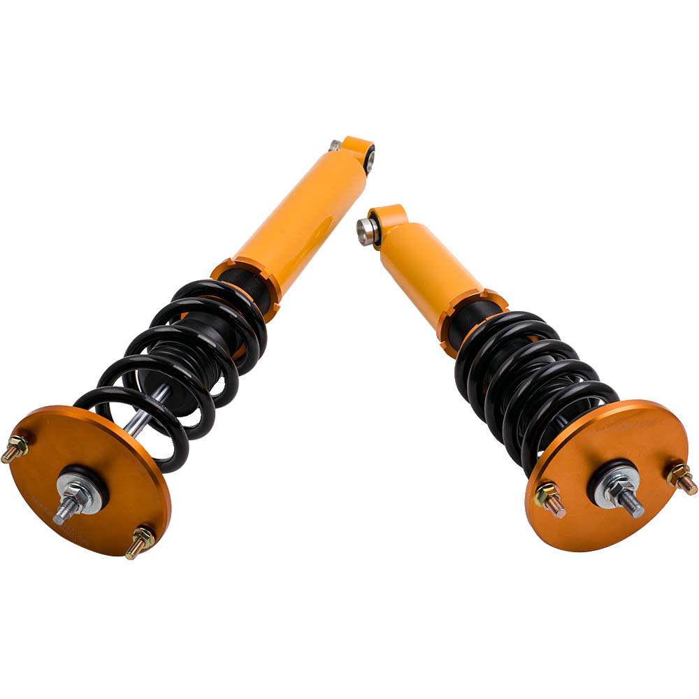 Adj. Suspensión de coilovers de altura compatible para Nissan Skyline R33 GTS GTST RB25DET 93-97