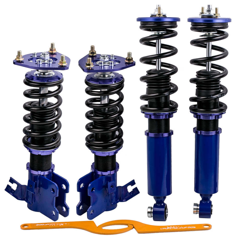 1989 - 1994 For Nissan S13 240sx Silvia Coilovers Spring Suspension Kits Adjustable Height