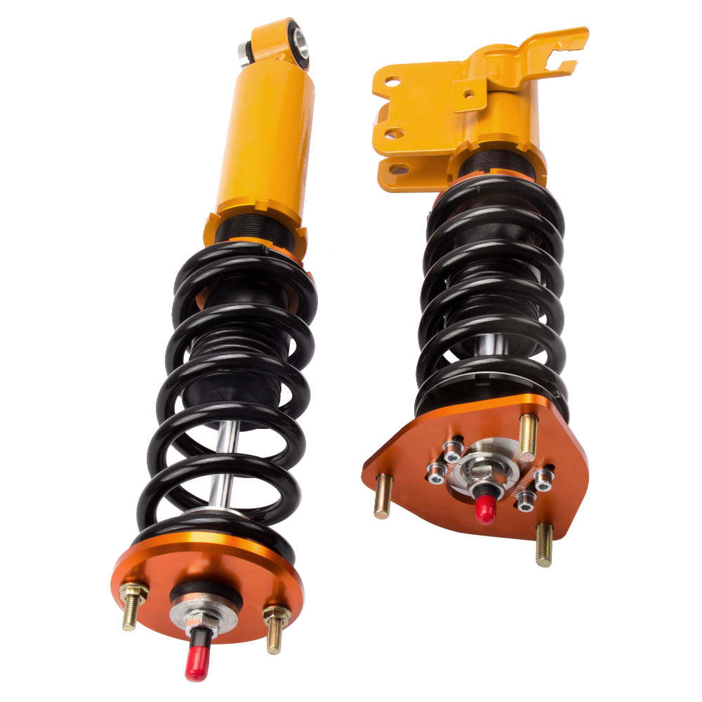 For Nissan S13 240SX Adj. Coilovers Shock Absorber Coil Spring Struts 1989-1990