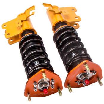 For Nissan S13 240SX  1989-1990 Adj. Coilovers Shock Absorber Coil Spring Struts Suspension Kit