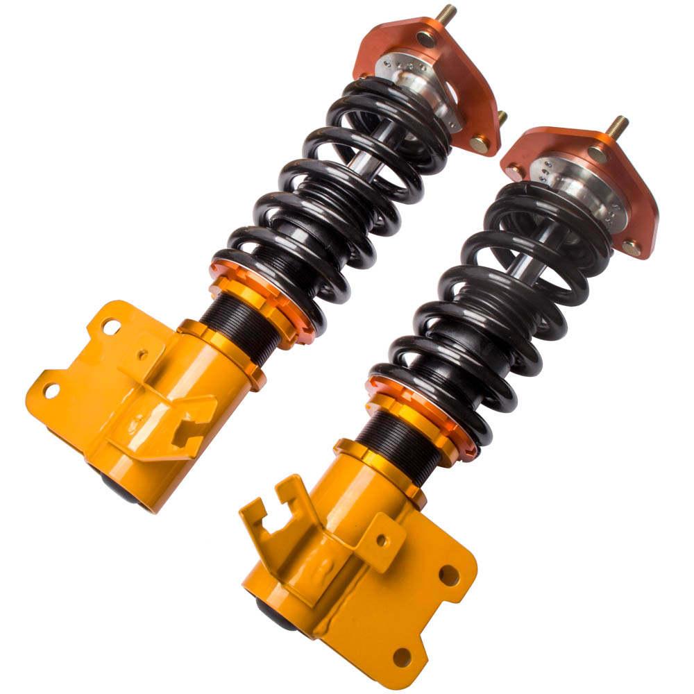 New Coilover Amortiguador Ajustable fit compatible para Nissan S13 180SX 200SX 89-94 240SX