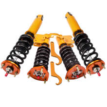 For Nissan S13 240SX  1989-1990 Adj. Coilovers Shock Absorber Coil Spring Struts Suspension Kit