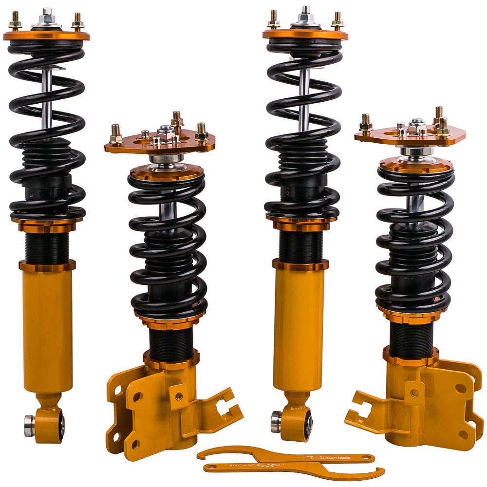 For Nissan Silvia S13 180SX 200SX Full Coilovers Suspension Spring Kit Absorbers