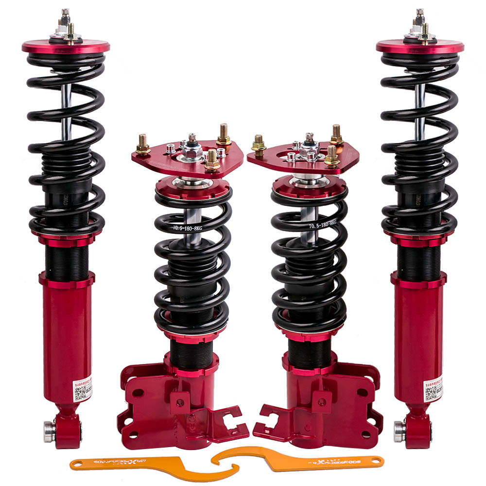 For Nissan S13 240SX 89-90 2.4L 30 Ways Adjustable Damper Force Coilovers suspension Kits