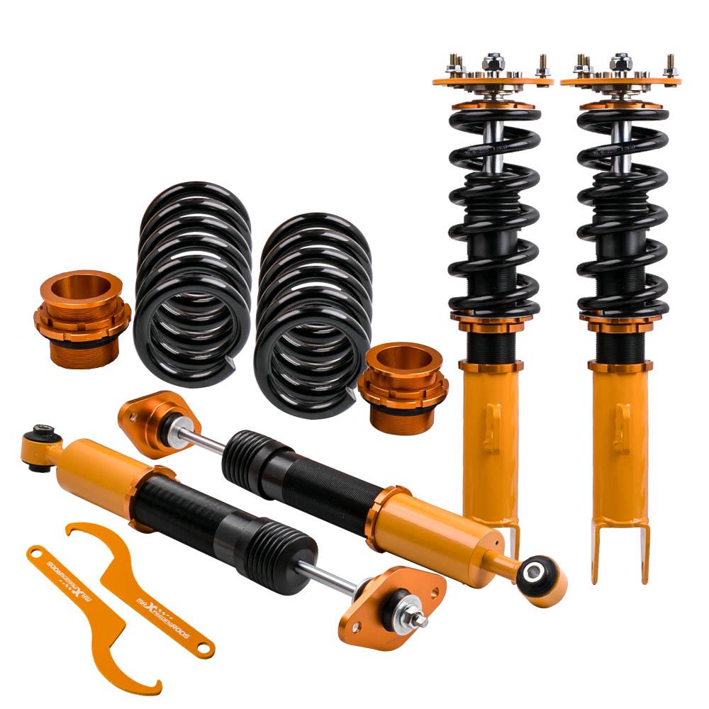 Cars & Motorbikes Compatible for Dodge Charger 06-10  compatible for SRT-8 Coilover suspension Kits Adjustable Height Shocks Strut