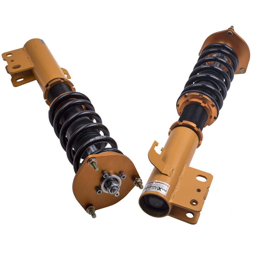 Compatible para Subaru Forester 98-02 Coilover Absorber Shock Strut Spring Amortiguador Kit