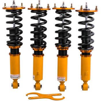 For Toyota Supra JZA70 MA70 GA70 86-92 Adjustable Coilover Shock Struts 24 Ways Damper