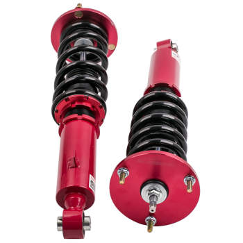 1986 - 1993 For Toyota Supra MA70/GA70/JZA70 Suspension Struts Red Racing Coilovers