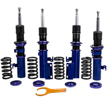 Assembly Coilovers Kits For Toyota Camry 07-11 XV40 Adj. Height Shocks Absorbers