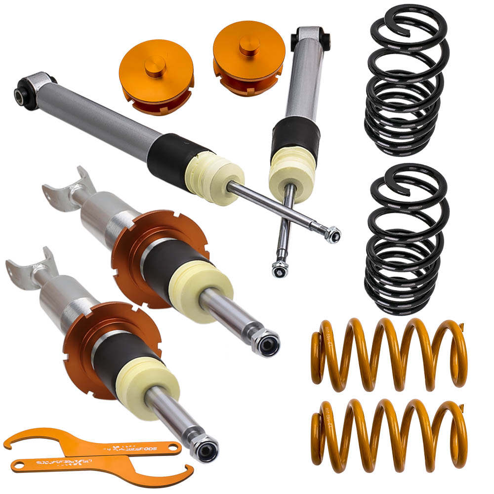 Coilovers Spring Lowering Suspension Shock Strut Kits For Audi A4 8E B6 B7 2WD