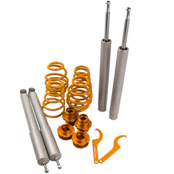 For Bmw E30 All Adjustable Coilover Suspension Spring Lit 51mm Front Inserts