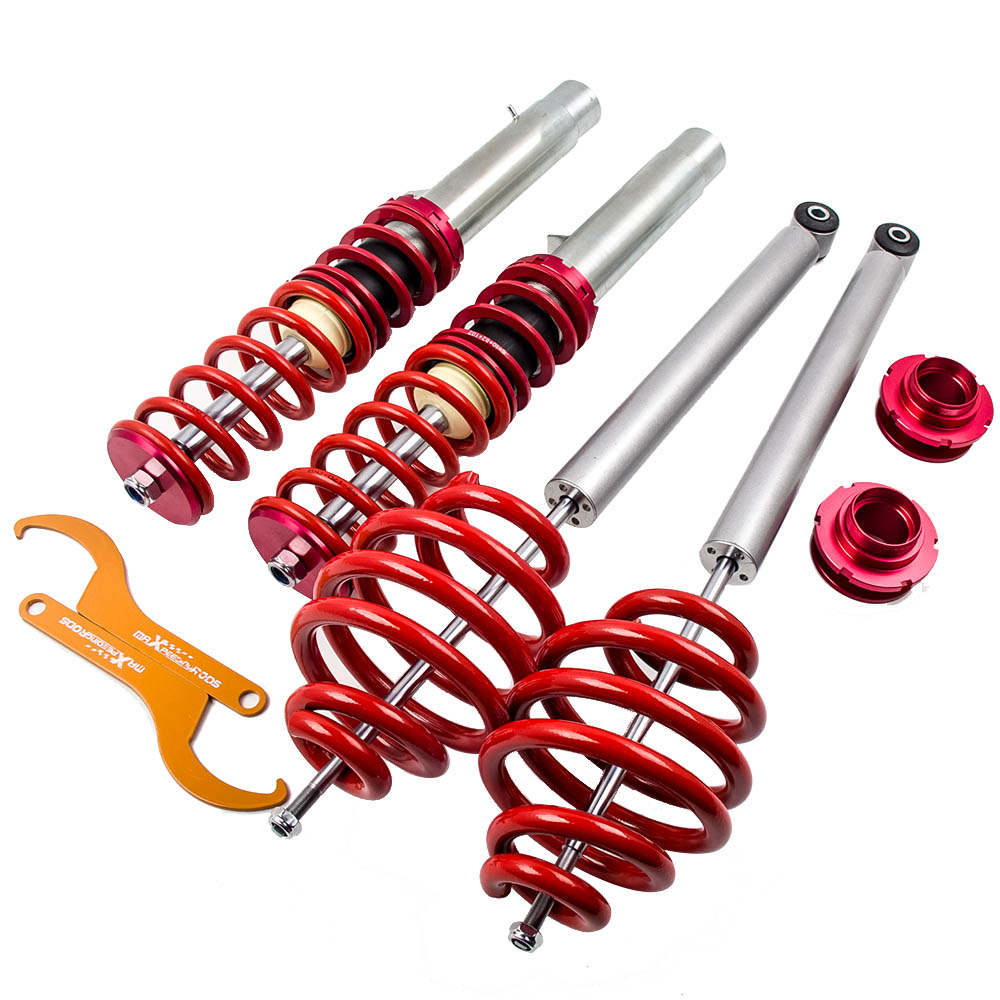 Adjuatable Suspension Coilover Kit For BMW 1998-2006 Red
