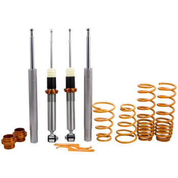 For BMW E34 5 series 525i 530i 540i Touring Coilovers Kit Adjustable Lowering