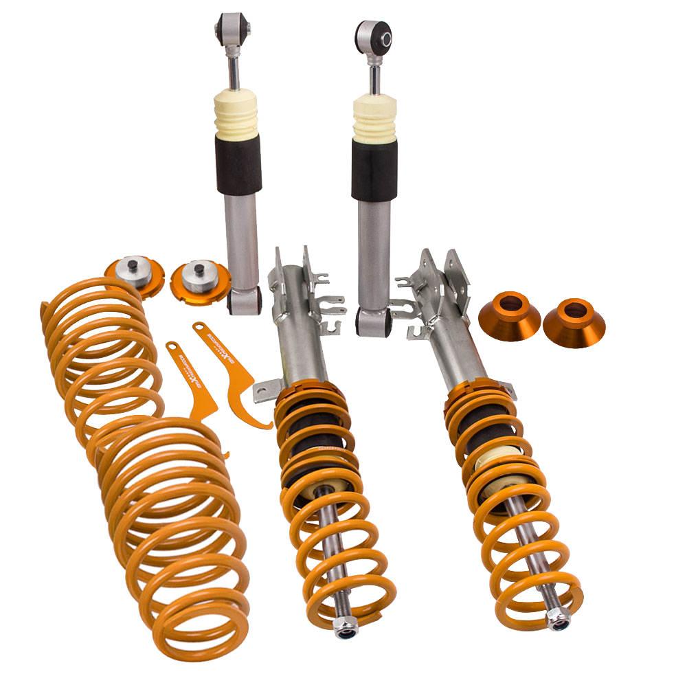 For Fiat 500 1.4 Abarth 2008-2012 Adjustable Shock Strut Coilover Suspension Kit