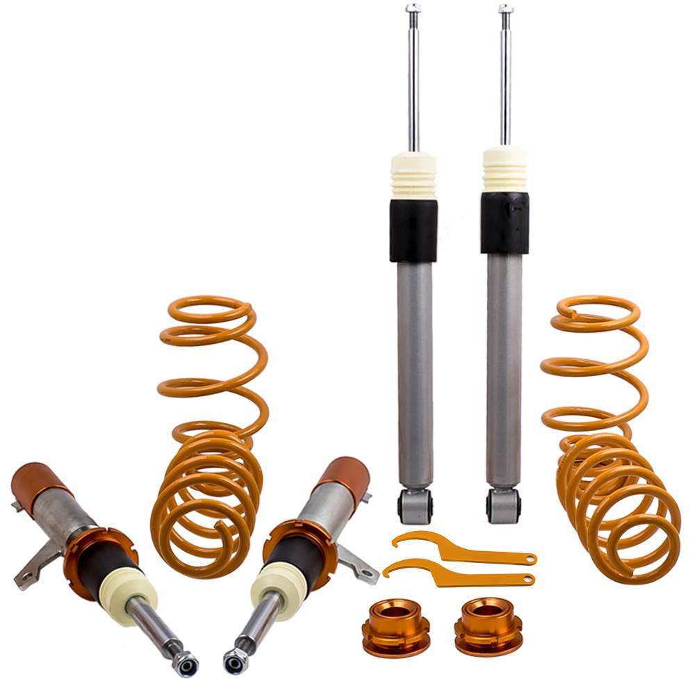 Coil Spring Strut Coilovers Full Kit for VW MK5 MK6 Golf/GTI/R32 Beetle