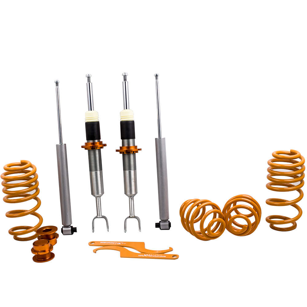 For Audi A6 4B C5 VW Passat 3B 3BG Coilovers Adjustable Lowering Suspension Coilovers Kit
