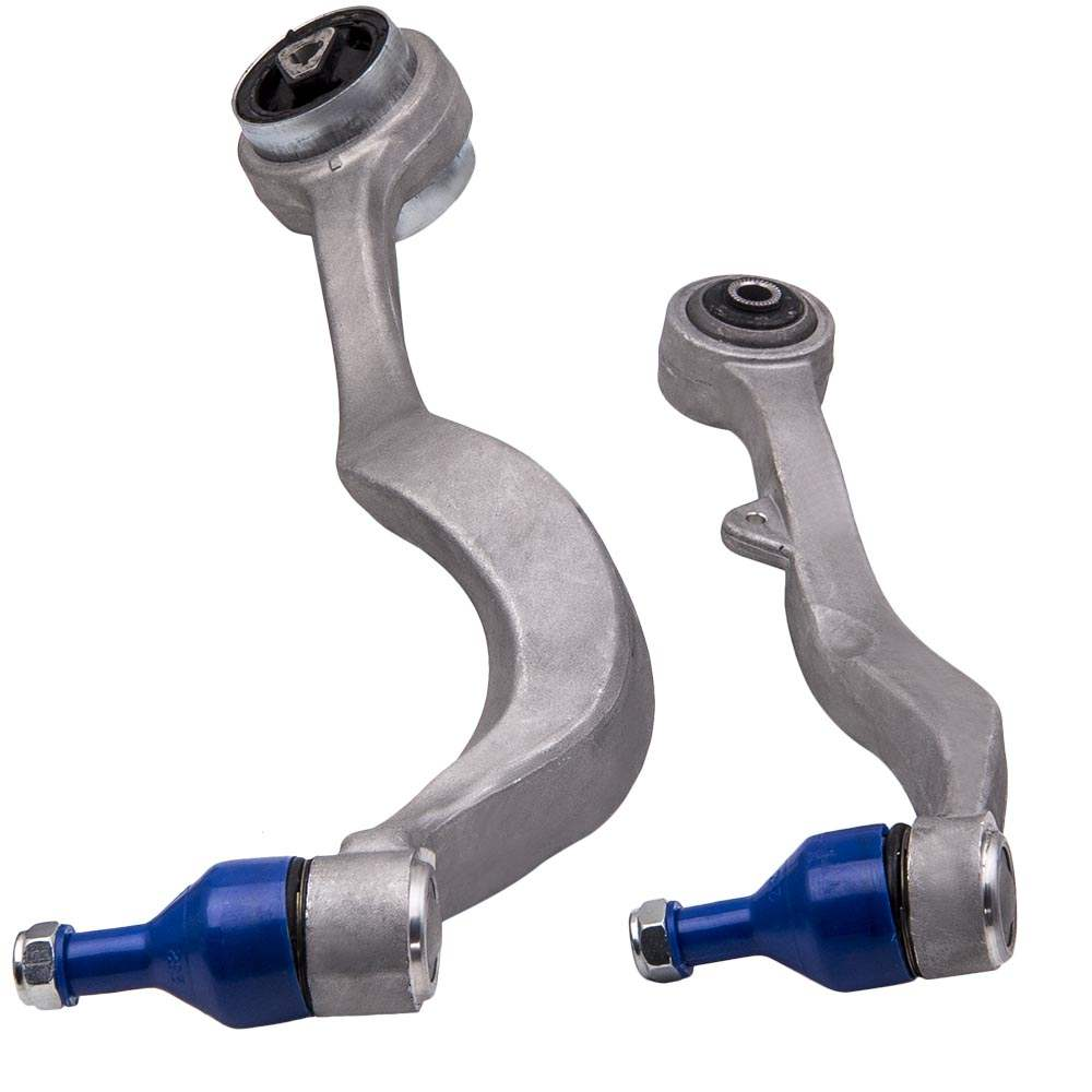Compatible para bmw e60 e61 2003-2010 kit de brazos de brazo de suspensión delantera conjunto de lados superior e inferior