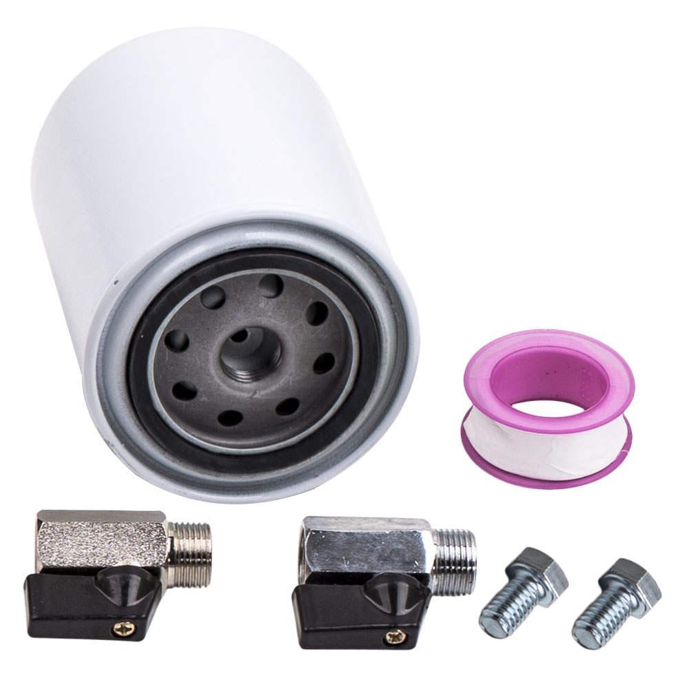 Coolant Filtration Filter Kit For Ford E450 VAN Powerstroke Diesel V8 6.0L 04-07