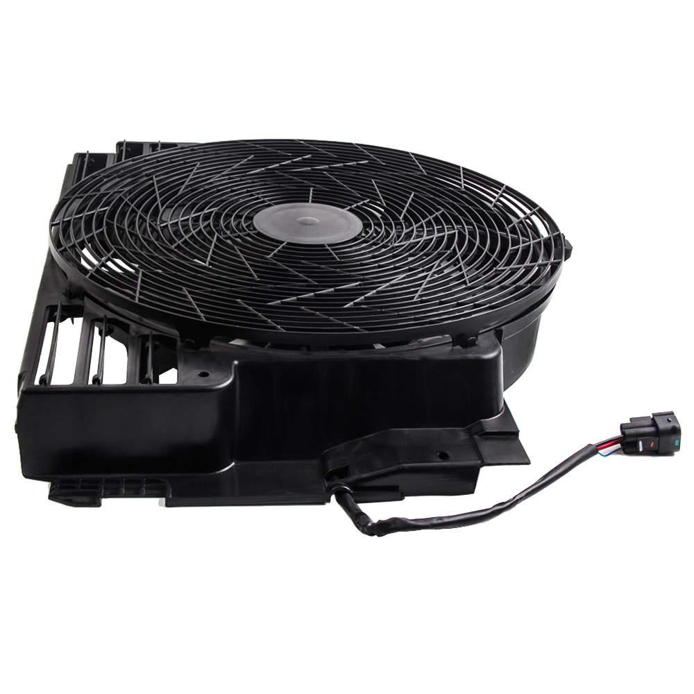 Ventilador de refrigeración motor 400w 12V compatible para BMW x5 e53 64546921381