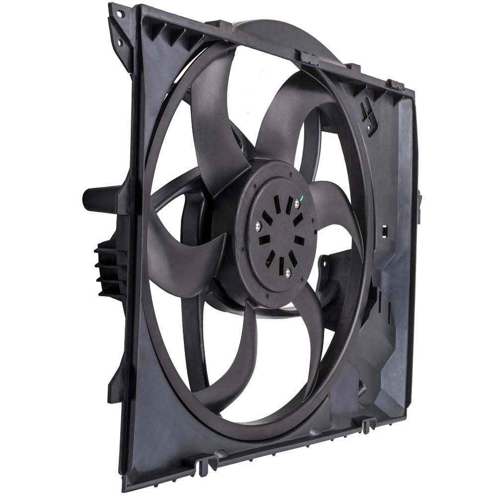 Conjunto de ventilador de refrigeración del radiador del motor con motor 400w compatible para BMW 325i 328i 330i Xi Z4