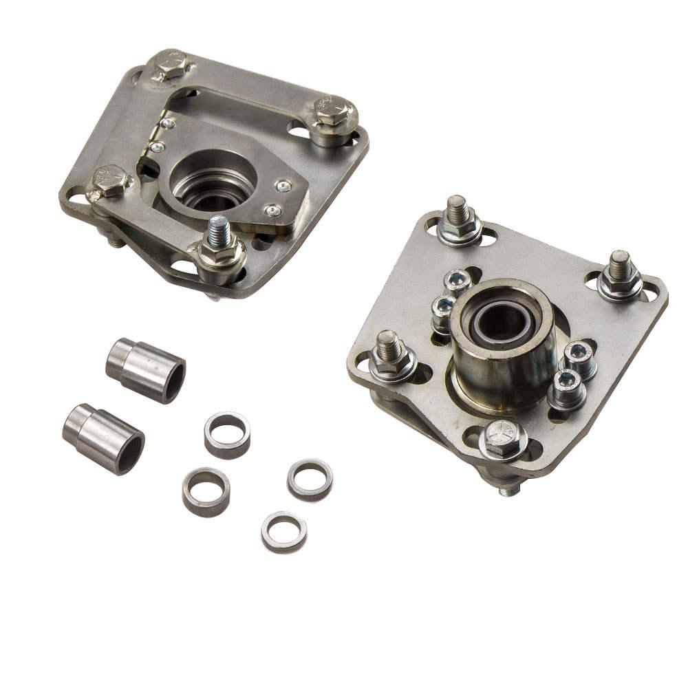 For Ford Mustang V6 V8 GT 94-04 Camber Caster Plates Alignment Kit Adjustable
