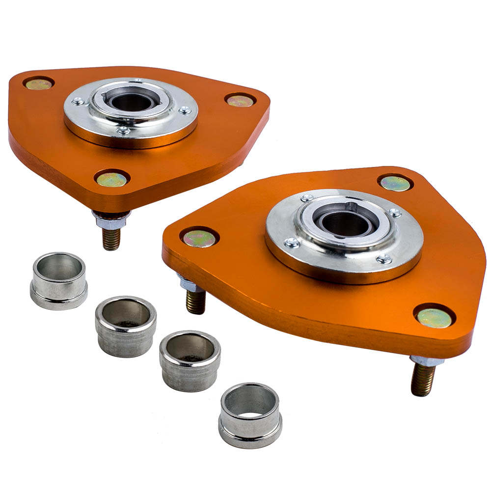 For Nissan Fairlady 350Z Coilover Sping Camber Arms Suspension Strut Top Mount Camber Plates