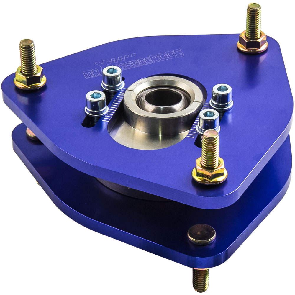 Camber Plates For Subaru Impreza WRX STI GDA GDB 02-07 Front Top Mount 2PCS