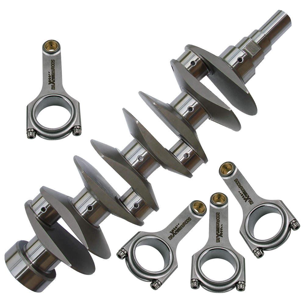Crankshaft Crank + Rod Kit H Beam for Toyota 4AG 4AGE 1.6 Corolla AE86 1.6 16V