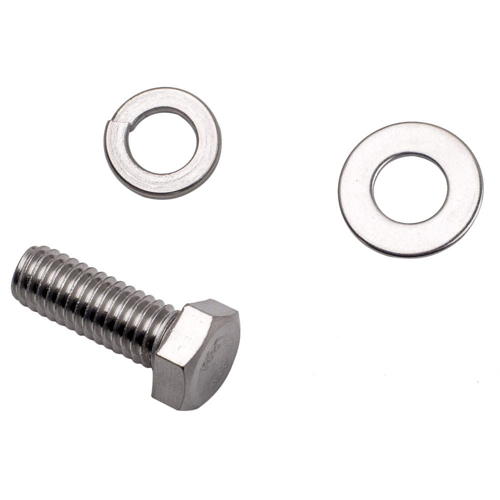 Stainless Hex Bolt Kit Small Block For Chevy Sbc 265 305 307 327 350 400