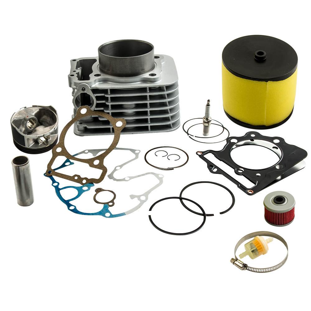 For Honda TRX400EX 400EX 1999-08 Cyinder Piston Base Gasket Top End Rebuild Kit