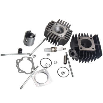 For SUZUKI JR 50 JR50 Cylinder Engine Piston Ring Gasket Top End Kit 78-06 1987