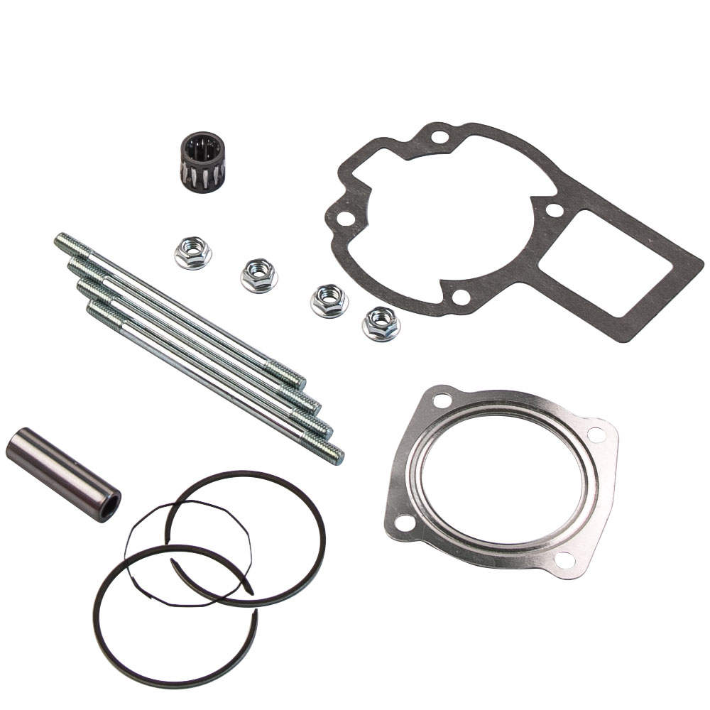 For SUZUKI LT 80 LT80 Cylinder Pistion Kit Rings Gaskets Pin Top End 87-06 1990