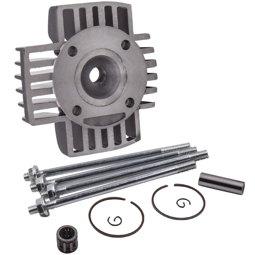 Cylinder Head Piston Assembly Kit for Yamaha PW50 81-09 QT50 1981-2009 60cc Big Bore