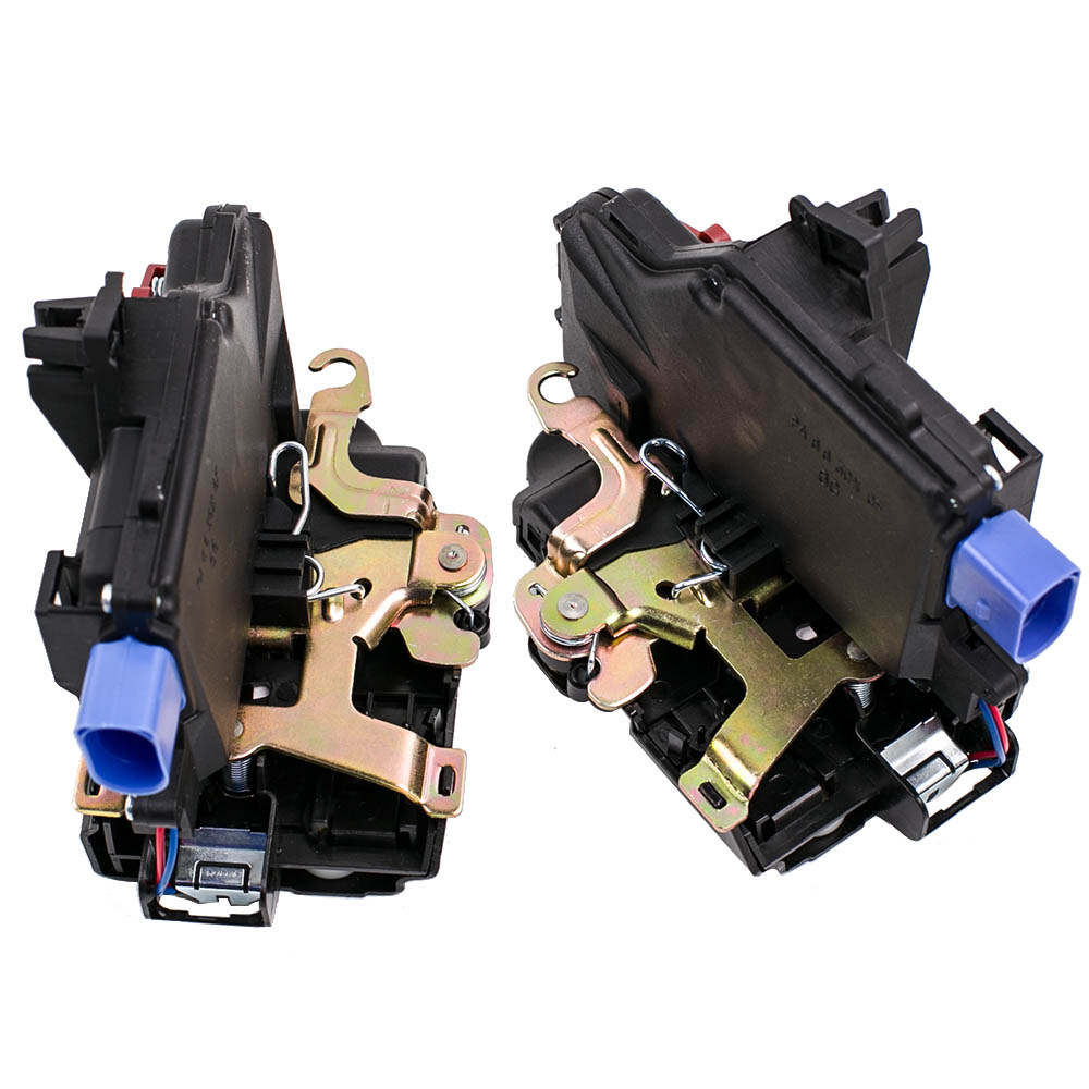 Pair Door lock mechanism latch rear axle L/R for VW Jetta Golf Touran Touareg