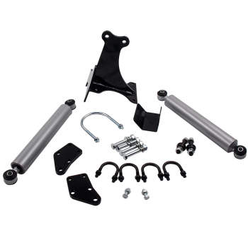 Dual Steering Stabilizer for 1999-2004 Ford Excusrion, F250, F350 4x4 Kit
