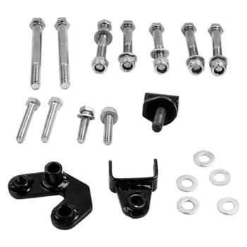 Steering Stabilizer/Damper Kit-Dual Steering Damper For 97-06 Jeep Wrangler TJ