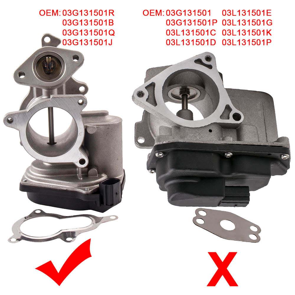 For EGR Valve for Audi A3 A4 2.0 TDI (B7) A6 TDI (C6) SKODA VW Polo 03G131501B/R/Q/J