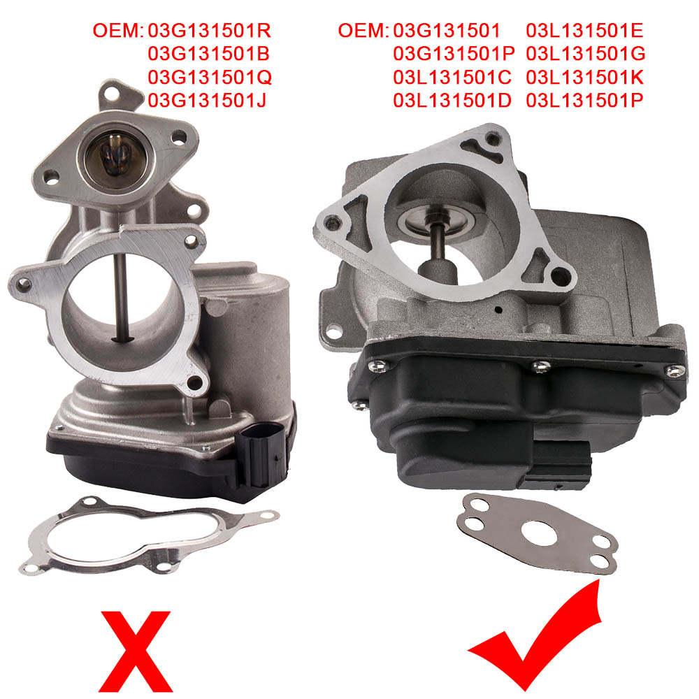 For VW Beetle EOS Golf MK VI Golf Plus Passat Scirocco 03L131501C 2.0 EGR Valve