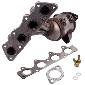 Unitized Exhaust Outlet Manifold Catalytic Converter for Hyundai Kia
