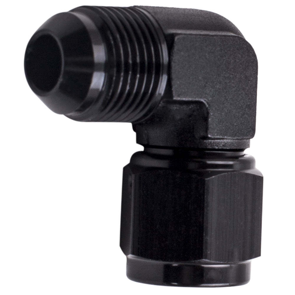 Performance Quality 8AN 90 Degree Push Lock Hose Fitting Adapter