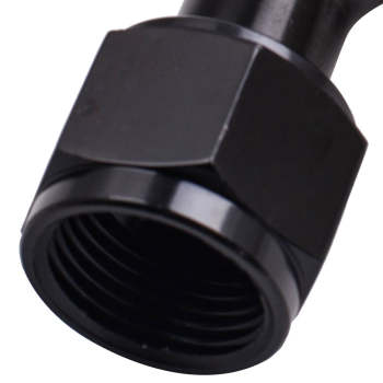 12AN 45 Degree Red/Black Swivel Hose End Fitting Oil Fuel Coolant for AN12