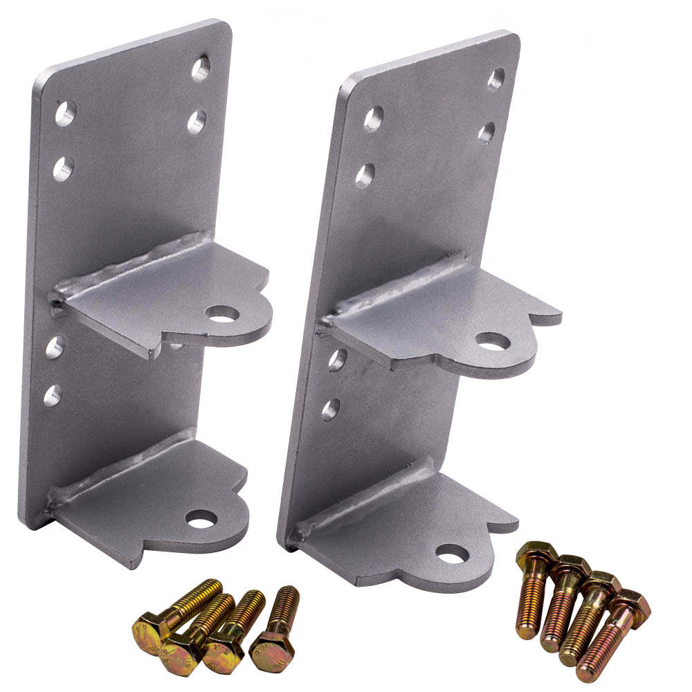 For C10 Truck LS LSX Engine Swap Bracket Mount Pair with Bolts