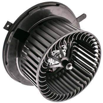 Blower Motor W/ Blower Wheel For VW Volkswagen Jetta Passat Golf CC Eos A3 New