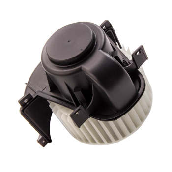 Front Heater Blower Motor w/ Fan Cage for Audi Q7 Porsche Cayenne VW Touareg