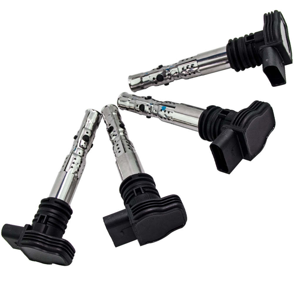 Ignition Coil packs Set for AUDI A3 S3 A4 A6 TT VW Golf  MK IV 1.8 06A905115 A B