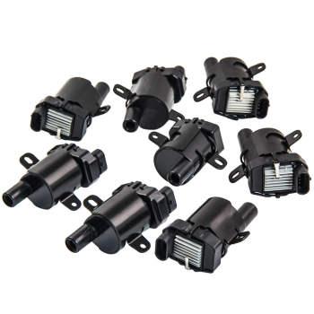 8 Ignition Coils for Chevrolet Silverado GMC Yukon V8 5.3L 6.0L 4.8L D585 IC413